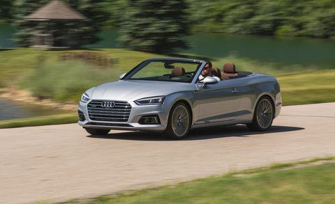 2018 Audi A5 Cabriolet Test | Review | Car and Driver