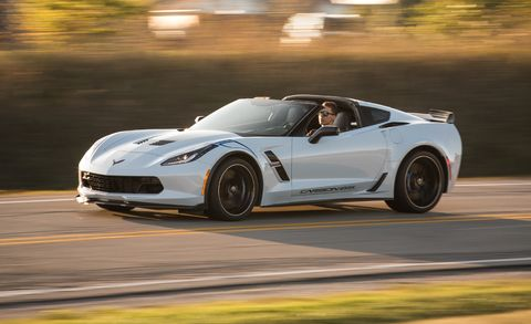 2018 Corvette Grand Sport >> 2018 Chevrolet Corvette Grand Sport Review Car And Driver