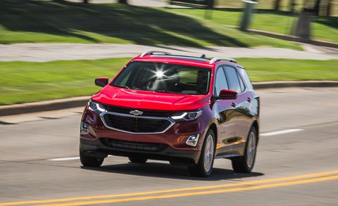 Chevy Awd Cars >> 2018 Chevrolet Equinox 2 0t Awd Test Review Car And Driver