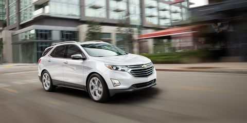 2018 Chevrolet Equinox Diesel First Drive Review Car And Driver