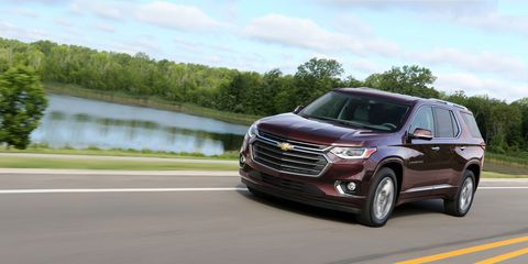 2018 Chevrolet Traverse First Drive Review Car And Driver