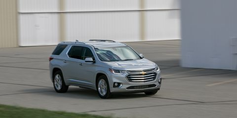 Tremendous 2018 Chevrolet Traverse Test Review Car And Driver Evergreenethics Interior Chair Design Evergreenethicsorg