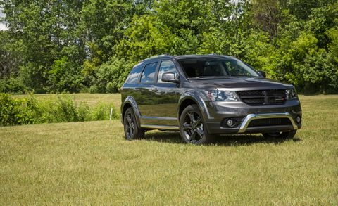 2018 Dodge Journey Review Car And Driver