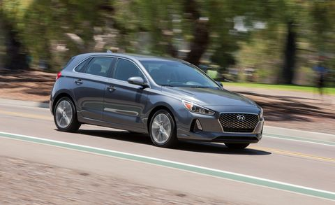 2018 Hyundai Elantra Gt 2 0l Automatic Test Review Car