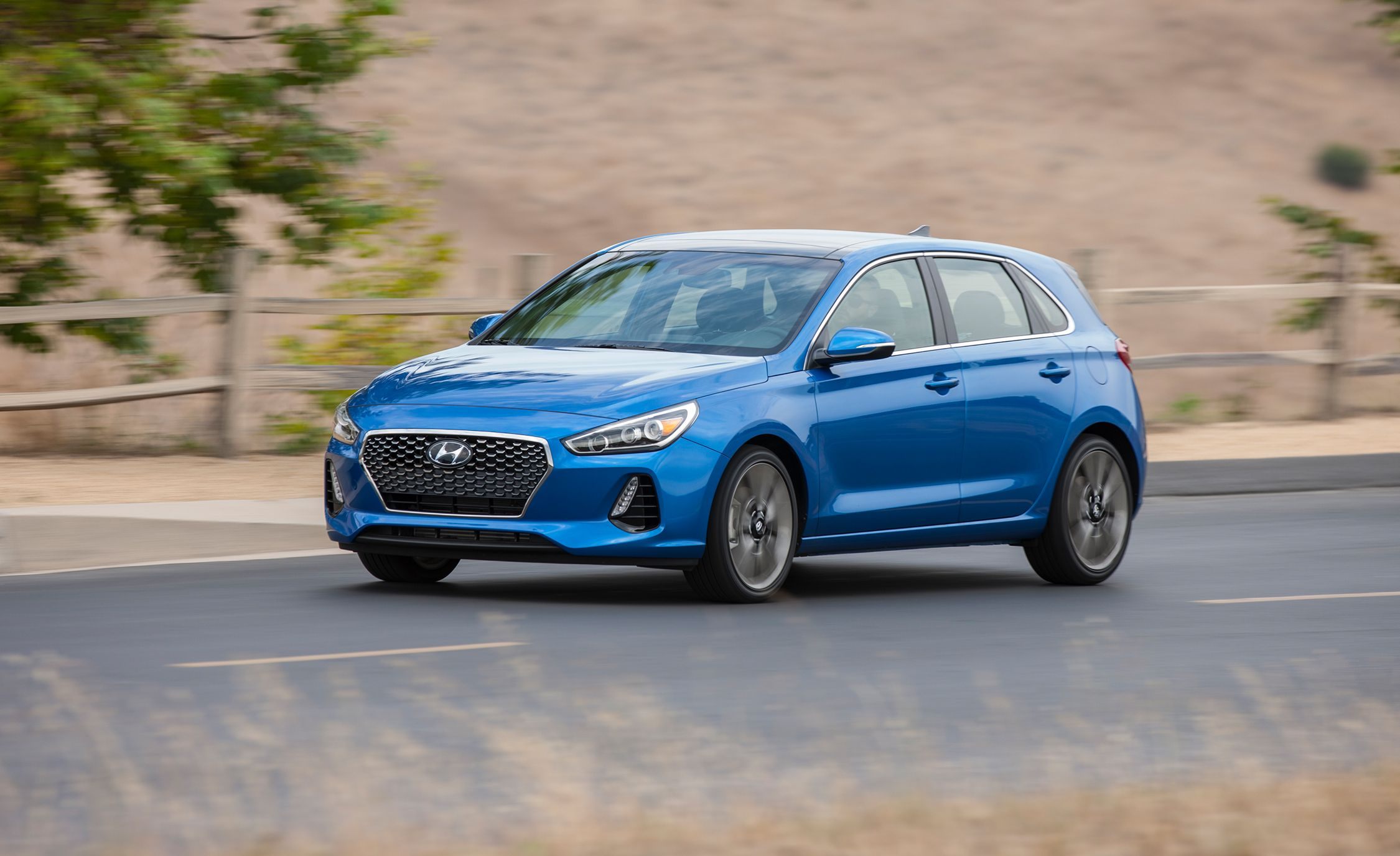 2018 Hyundai Elantra Gt Sport First Drive Review Car And Driver
