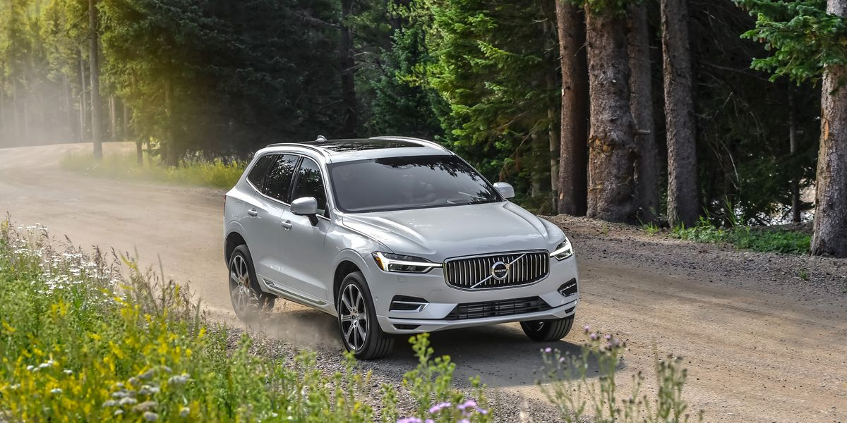 2018 Volvo Xc60 T8 Plug In Hybrid First Drive Review Car And Driver
