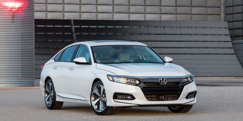 2018 Honda Accord Sedan >> 2018 Honda Accord Officially Revealed News Car And Driver