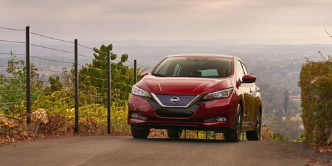 2018 Nissan Leaf Turning Over Anew