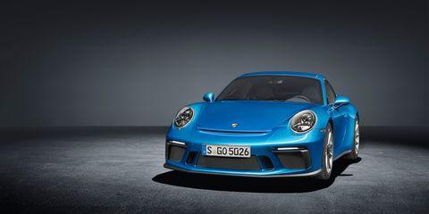 Land vehicle, Vehicle, Car, Automotive design, Blue, Supercar, Sports car, Cobalt blue, Luxury vehicle, Porsche,