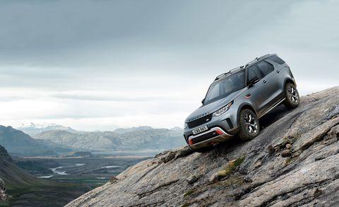 2019 Land Rover Discovery SVX: Design, Specs >> 2019 Land Rover Discovery Svx Photos And Info News Car And Driver