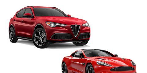Land vehicle, Vehicle, Car, Automotive design, Red, Performance car, Motor vehicle, Sports car, Mid-size car, Grille,