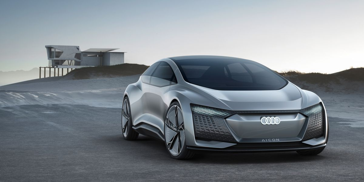 audi elaine and aicon concepts official photos and info