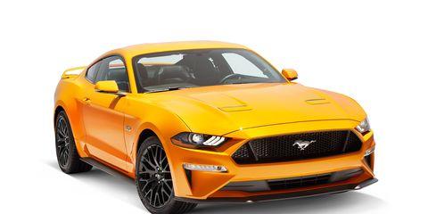 Land vehicle, Vehicle, Car, Motor vehicle, Yellow, Muscle car, Automotive design, Hood, Sports car, Performance car,