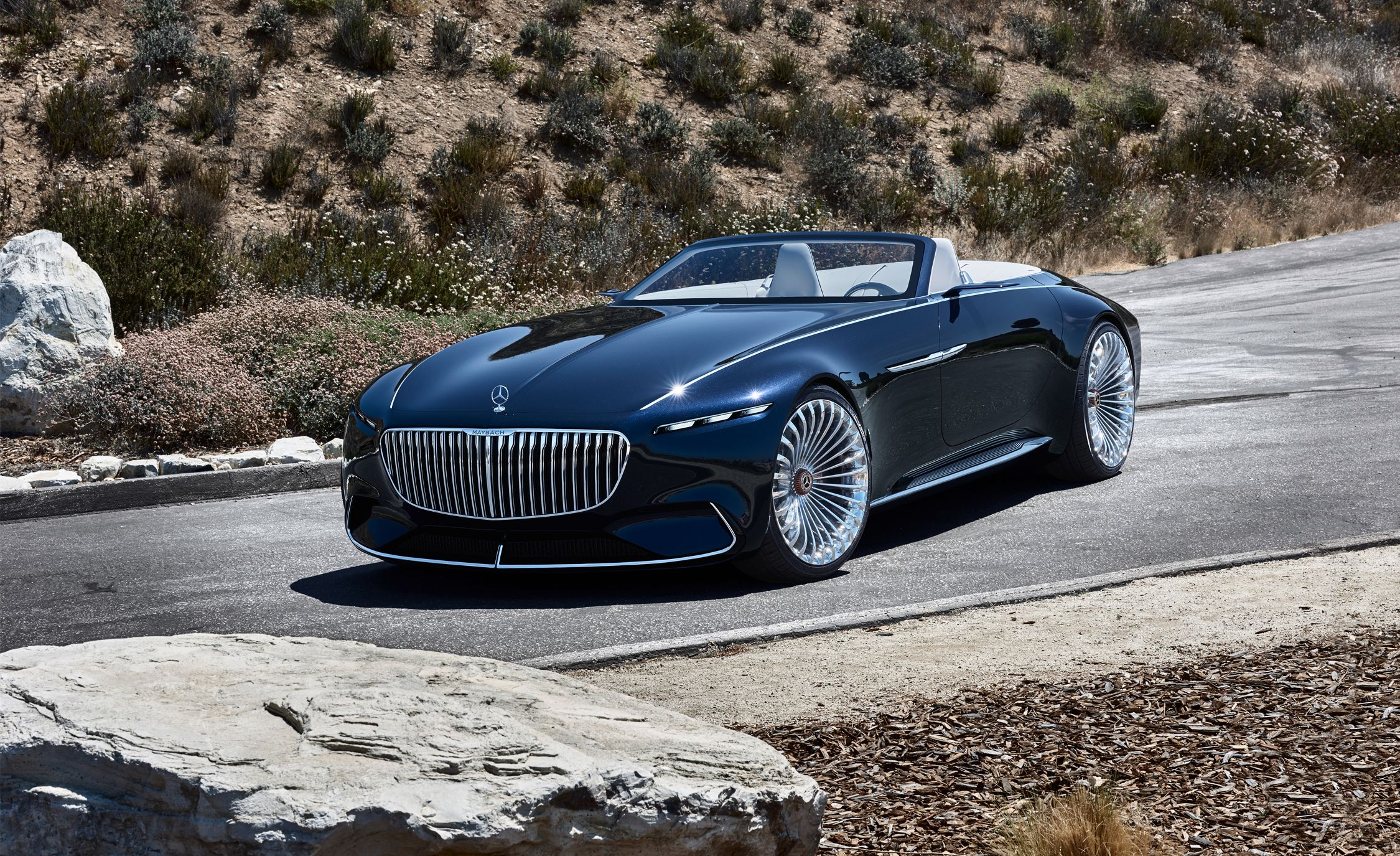 Vision Mercedes Maybach 6 Cabriolet Photos And Info News Car And Driver