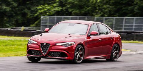 Alfa Romeo Giulia Quadrifoglio >> Alfa Romeo Giulia Quadrifoglio At Lightning Lap 2017