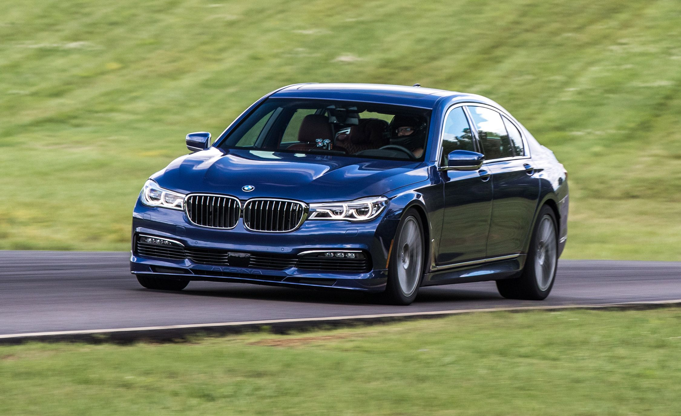 Bmw Alpina B7 Xdrive At Lightning Lap 2017 Feature Car And Driver