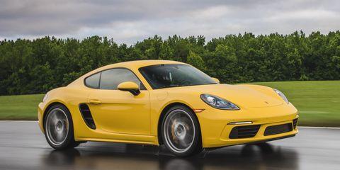 Land vehicle, Vehicle, Car, Yellow, Sports car, Supercar, Automotive design, Motor vehicle, Performance car, Porsche cayman,