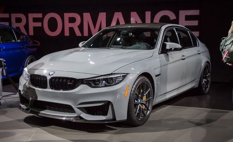 2018 Bmw M3 Cs Photos And Info News Car And Driver