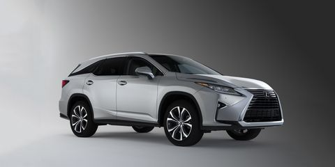 2018 Lexus Rx350l Rx450hl The Rx Gets An Extra Length