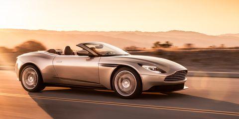 2019 Aston Martin Db11 Volante Photos And Info News Car And Driver