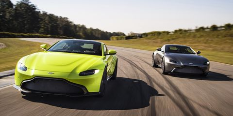 New Aston Martin >> 2019 Aston Martin Vantage Unveiled It S Stunning News Car And
