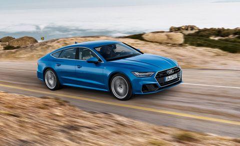 2019 Audi A7 Similarly Slinky Looks Lots Of New Technology