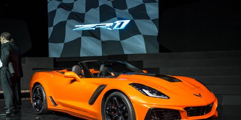 2019 Chevrolet Corvette Zr1 Convertible Extreme And