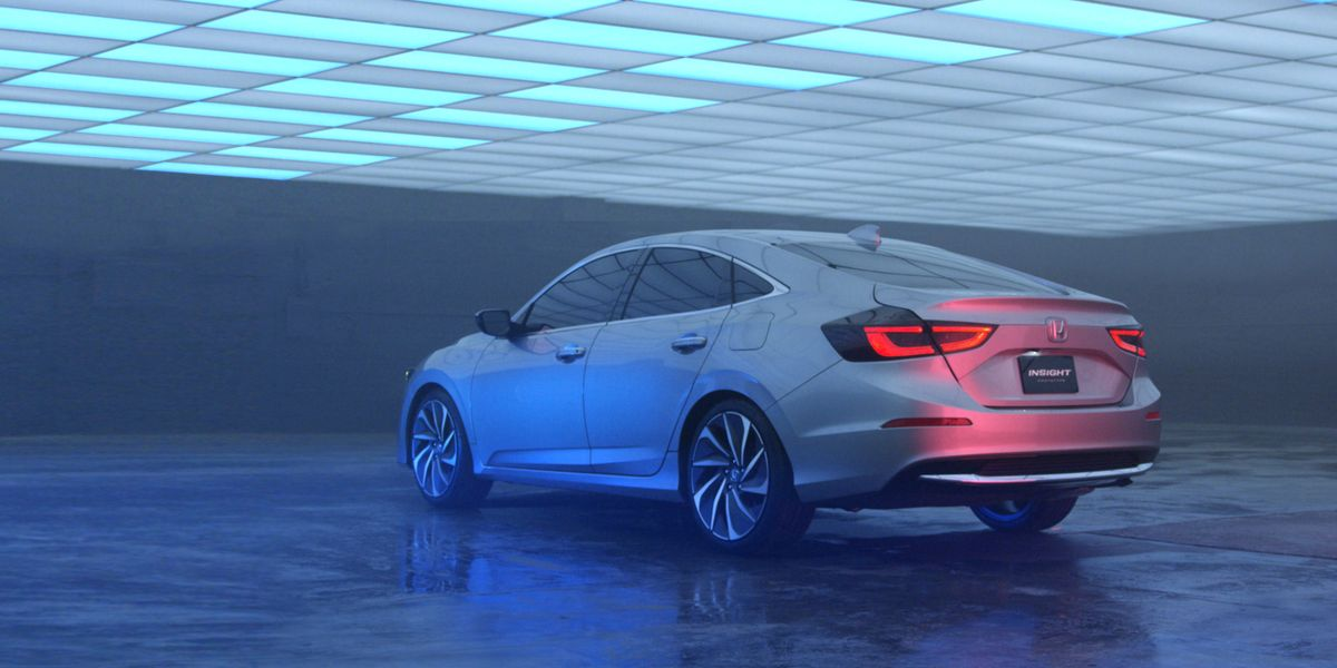 2019 Honda Insight Prototype A Civic Hybrid By Another Name News Car And Driver
