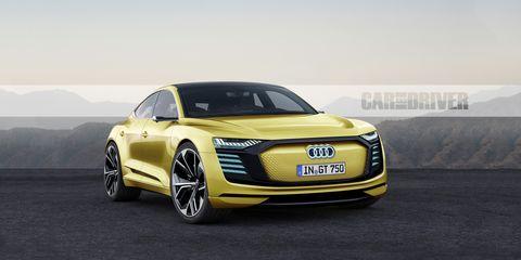 Land vehicle, Vehicle, Car, Automotive design, Audi, Sports car, Yellow, Concept car, Performance car, City car,