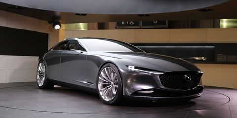 Luxury Car Vision >> Mazda Vision Coupe Concept A Gorgeous Signal Of Aspirations News