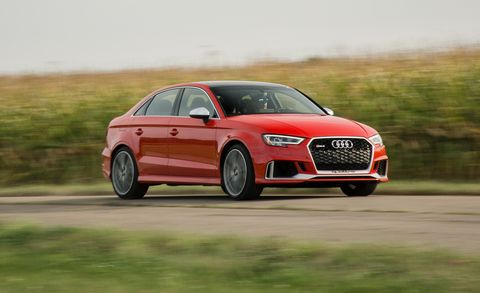 2017 Audi Rs3 Test Review Car And Driver