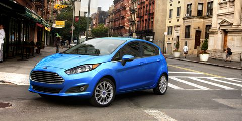 2017 Ford Fiesta Hatchback Automatic Test | Review | Car and