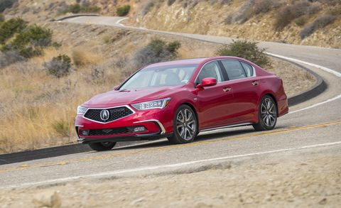 2017 Acura Rlx Sport Hybrid >> 2018 Acura Rlx Sport Hybrid Sh Awd First Drive Review Car And Driver