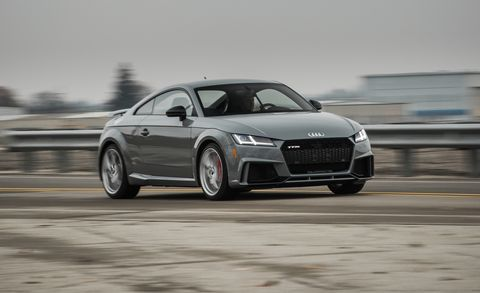 2018 Audi Tt Rs Test Review Car And Driver