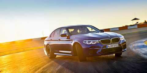 674d98d65f 2018 BMW M5 First Drive   Review   Car and Driver