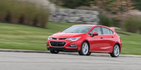 2018 Chevrolet Cruze Diesel Hatchback Manual Test | Review