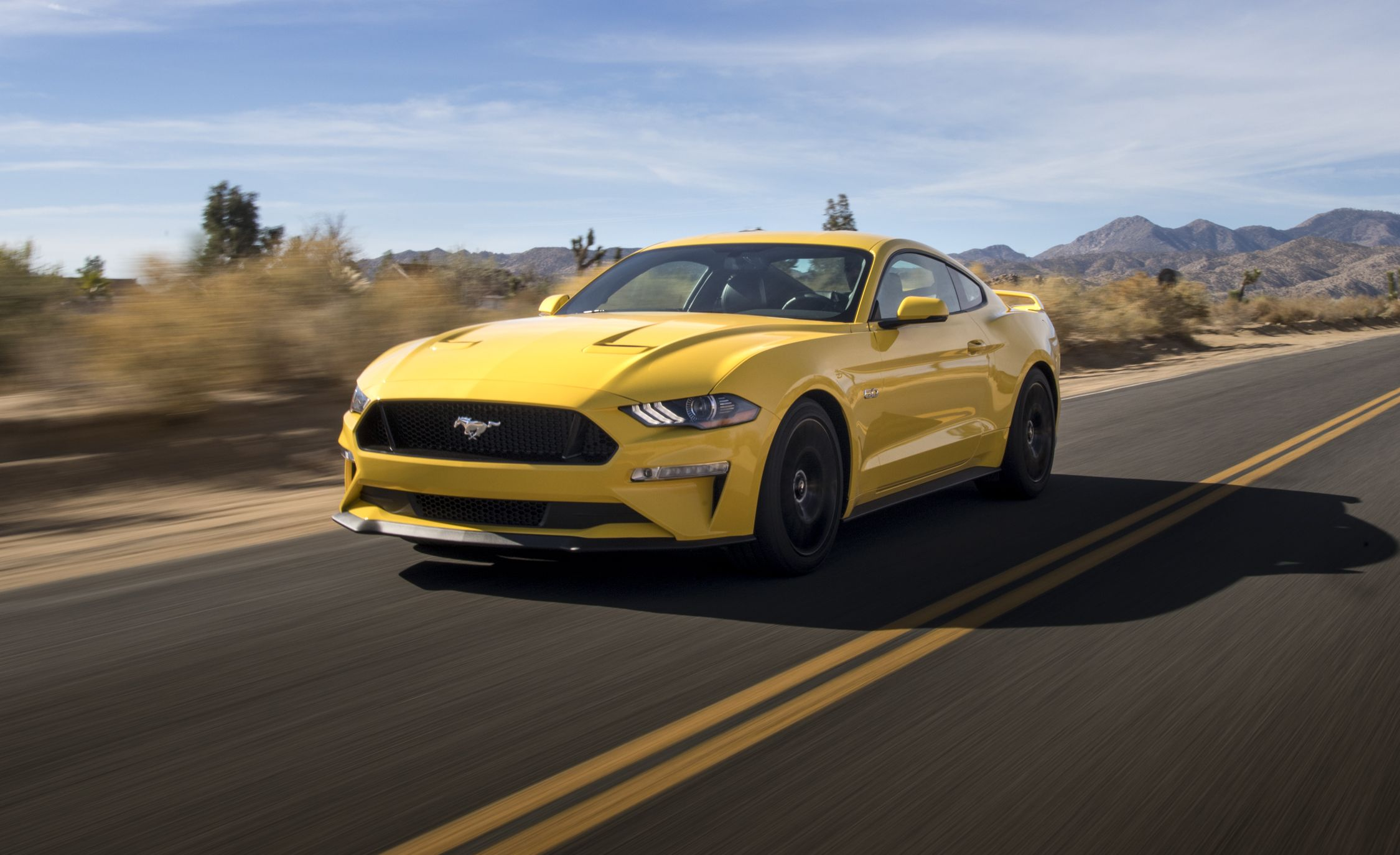 2018 ford mustang gt manual test review car and driver