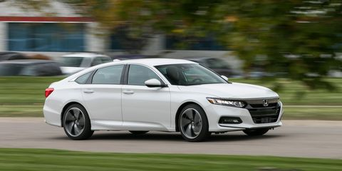2017 Honda Accord White >> 2018 Honda Accord Sport 1.5T Manual | Review | Car and Driver