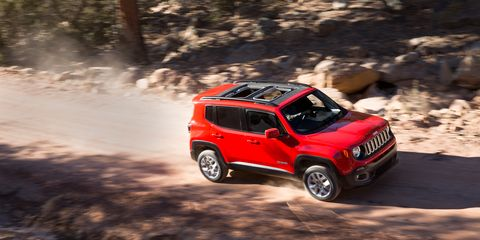 Jeep Renegade Off Road >> 2018 Jeep Renegade Review Car And Driver