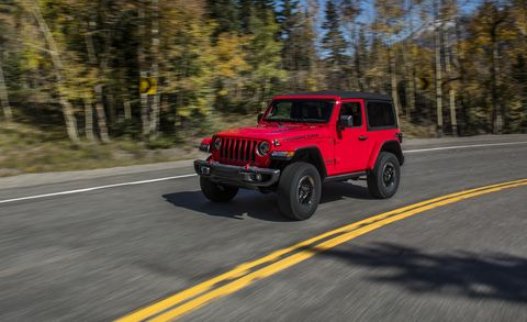2018 Jeep Wrangler: Redesign, Aluminum Elements, Engines >> 2018 Jeep Wrangler First Drive Review Car And Driver
