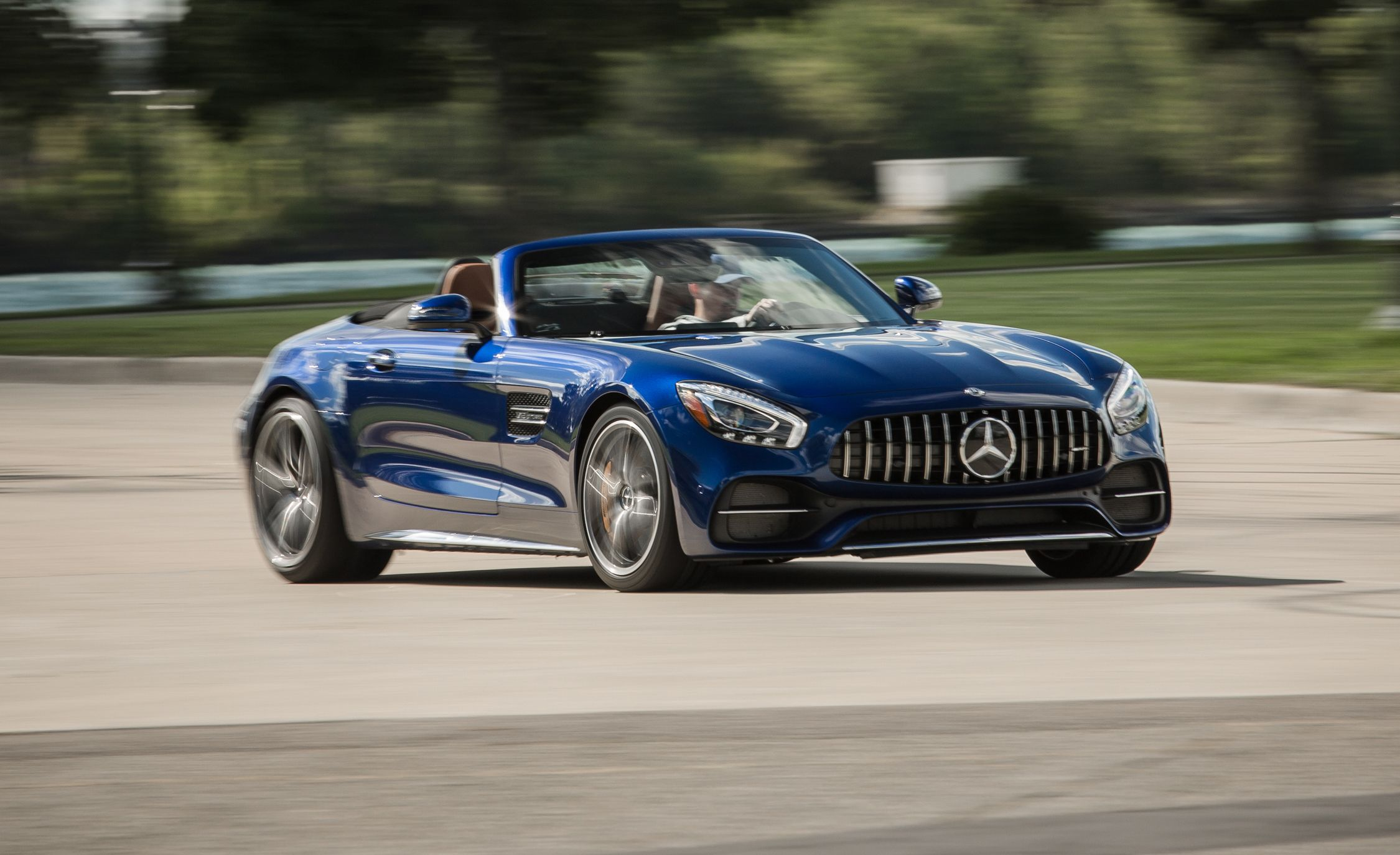 Tested 2018 Mercedes Amg Gt C Roadster