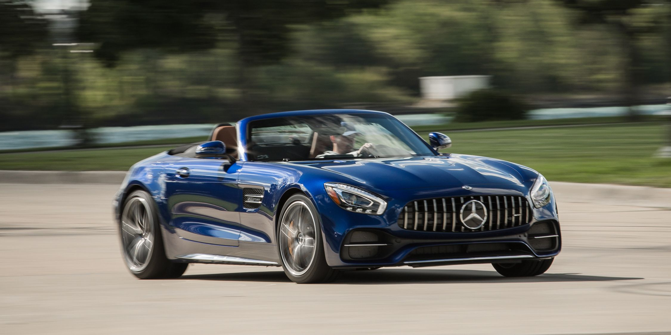 2018 Mercedes Amg Gt C Roadster Full Test Review Car And Driver
