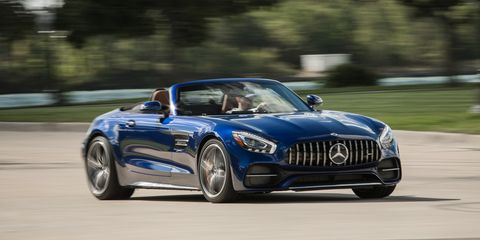 Amg Gt Roadster >> 2018 Mercedes Amg Gt C Roadster Full Test Review Car And
