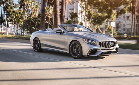 2018 Mercedes Benz Mercedes Amg S Class Coupe And