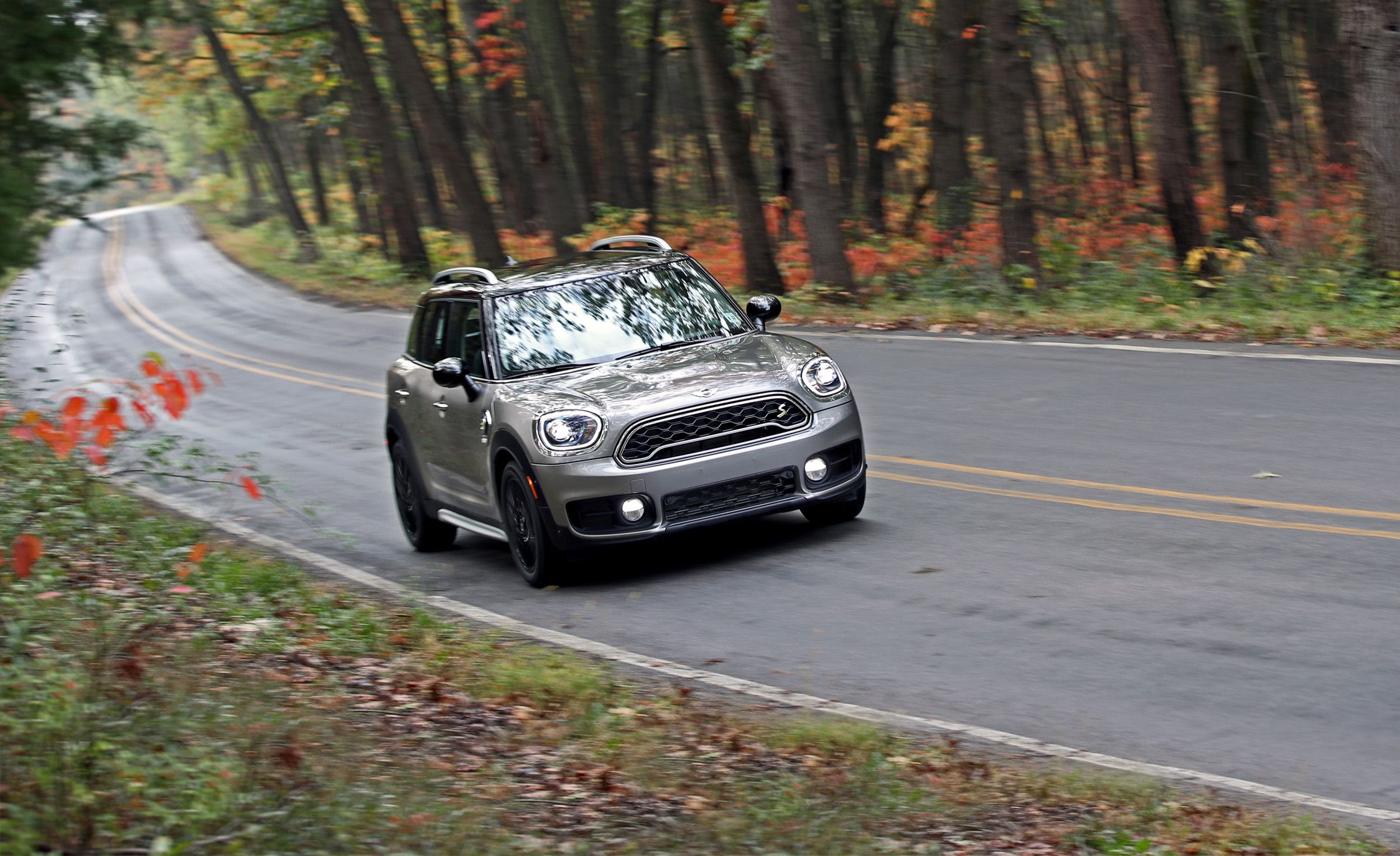 2018 Mini Cooper S E Countryman All4 Plug In Hybrid Test Review