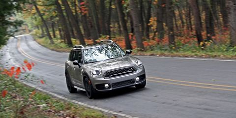 2018 Mini Cooper S E Countryman All4 Plug-In Hybrid Test