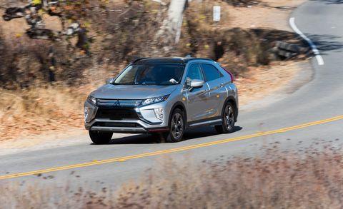 2018 Mitsubishi Eclipse Cross U S Spec First Drive Review Car