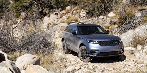 Land vehicle, Vehicle, Car, Sport utility vehicle, Off-roading, Range rover evoque, Range rover, Compact sport utility vehicle, Automotive design, Land rover,