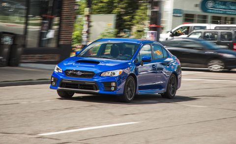 2018 Subaru WRX Manual with Performance Package Test