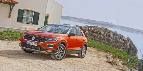 VW Golf SUV Comes As The 2018 VW T-Roc >> 2018 Volkswagen T Roc First Drive Review Car And Driver